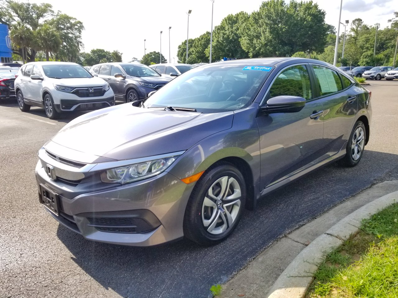 Certified 2018 Honda Civic Sedan LX