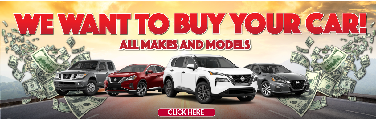 We Want Your Car!