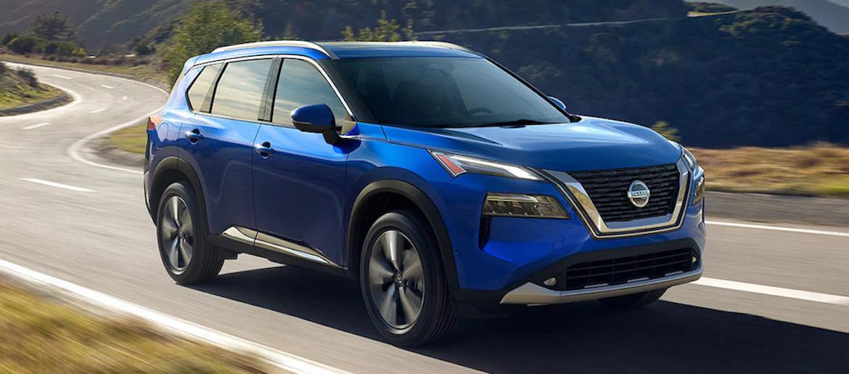 2021 Nissan Rogue Caspian Blue Metallic
