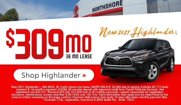 All-New 2021 Highlander L