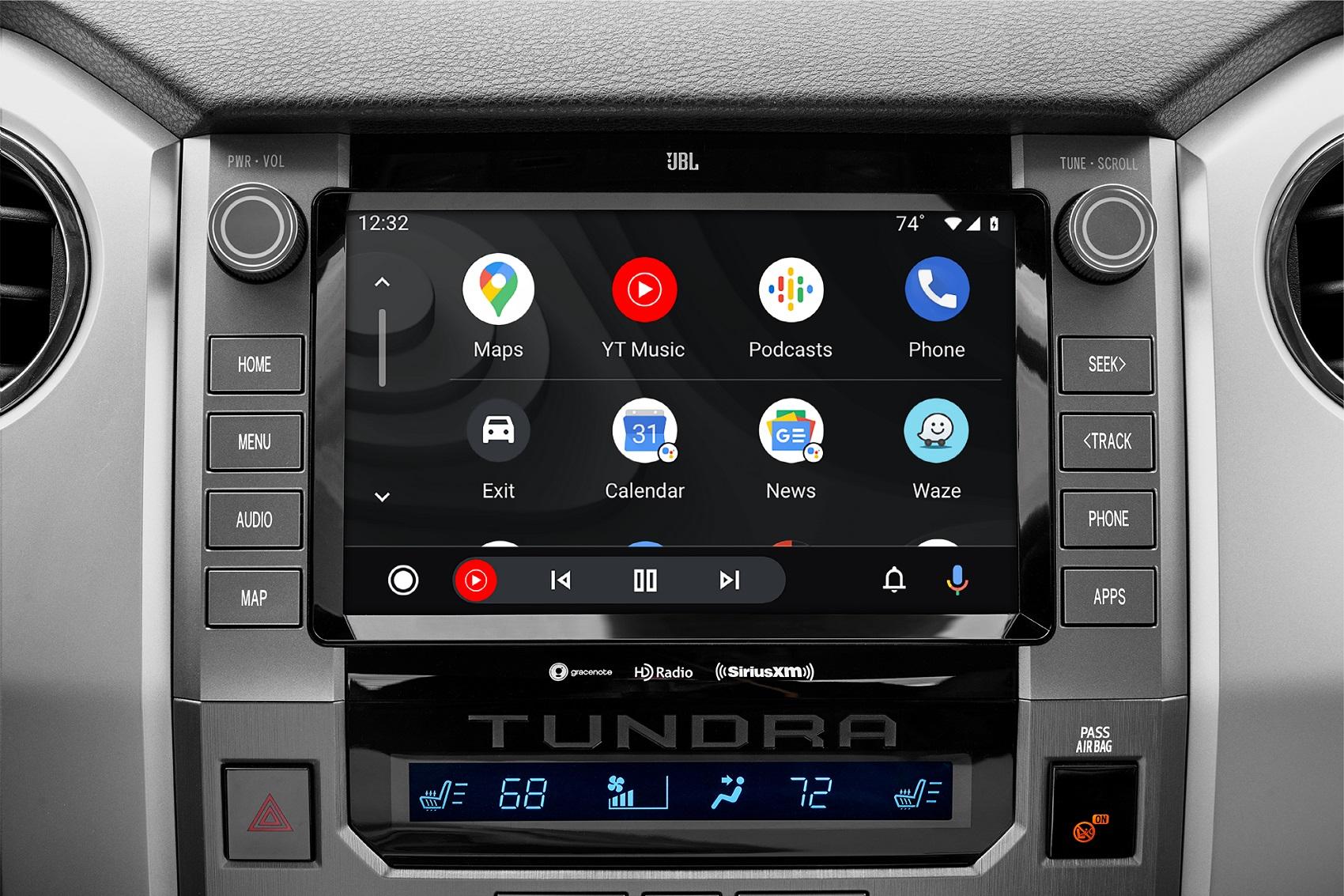 Toyota Tundra Interior with Android Auto™