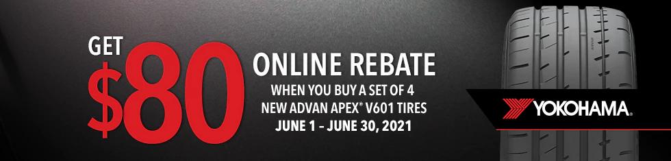 Yokohama Tires - Get A $80 Rebate