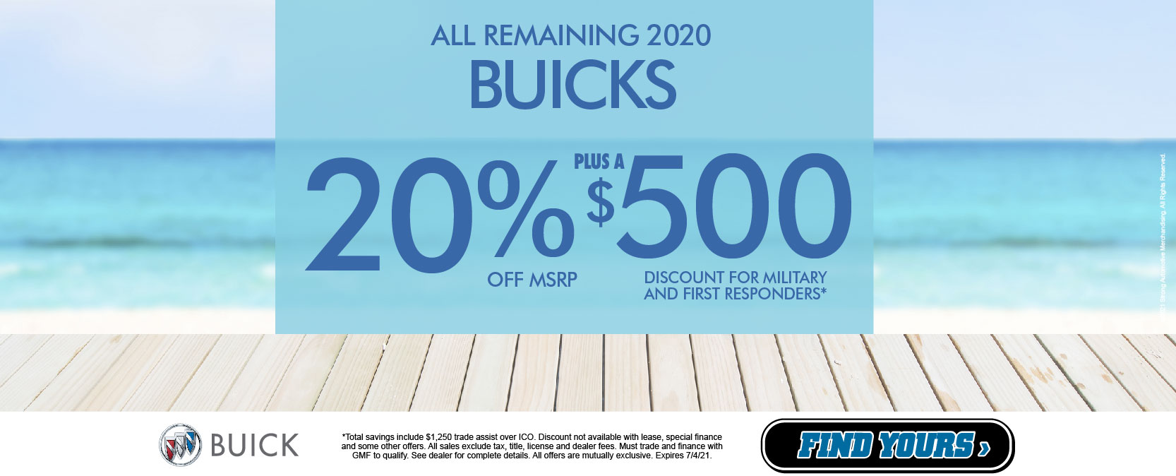 All Remaining 2020 Buicks - 20% OFF MSRP