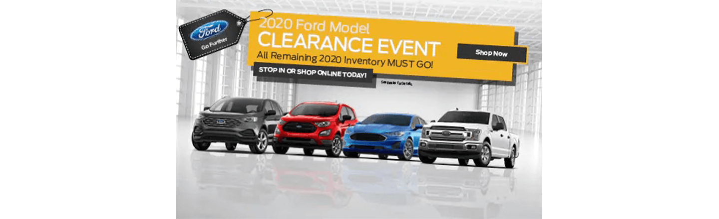 Ford Clearance Event