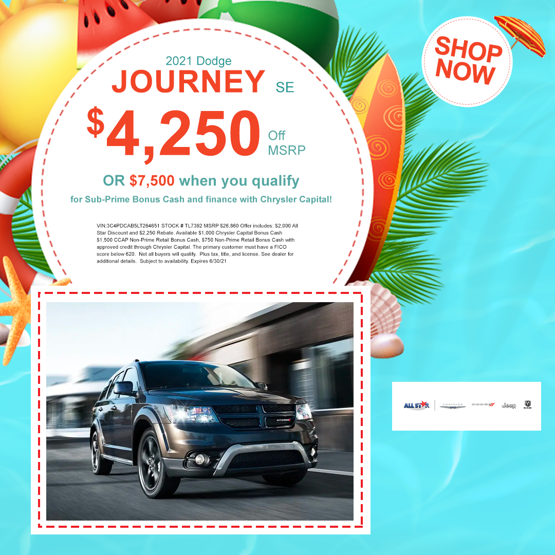 2021 Dodge Journey