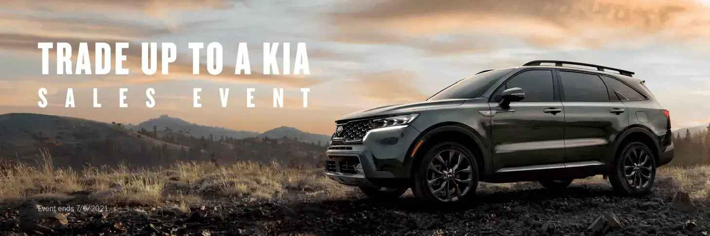 Trade Up To A KIA Sales Event