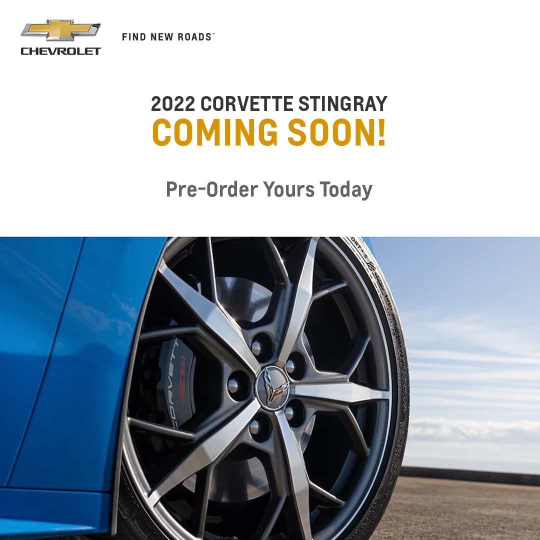 2022 Chevy Corvette Coming Soon
