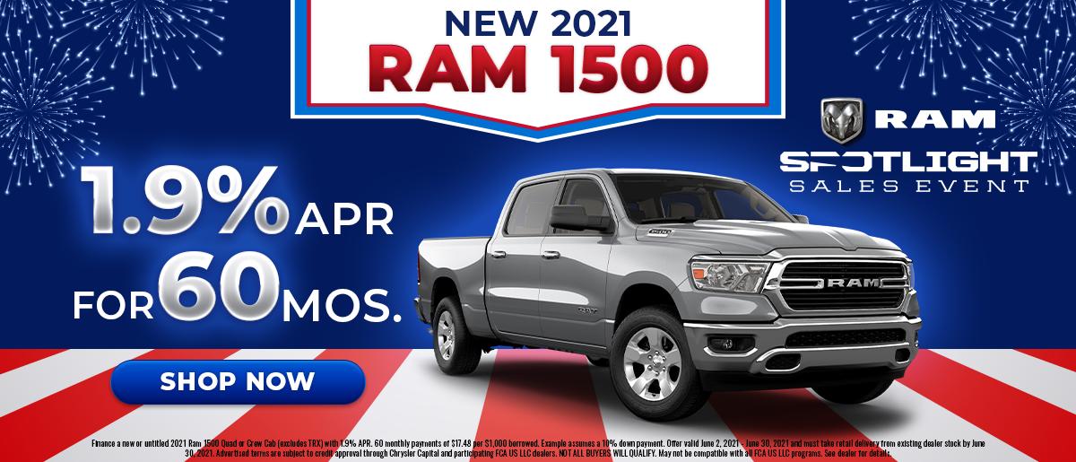 2021 Ram 1500 June Offer