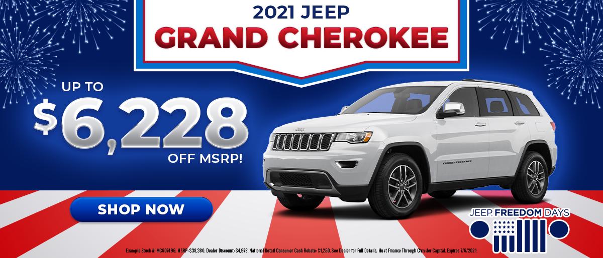 2021 Jeep Grand Cherokee June Offer