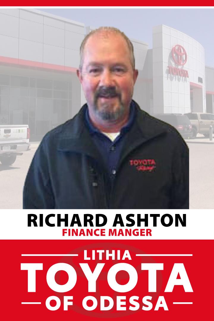 Richard Ashton Bio Image