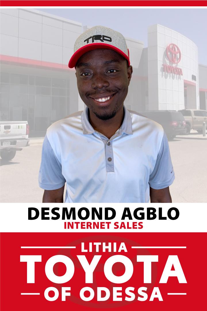Desmond Agblo Bio Image