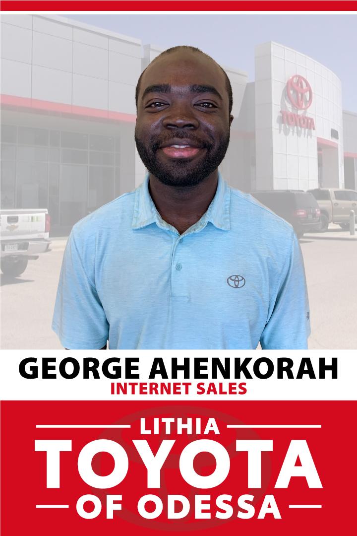 George Ahenkorah Bio Image