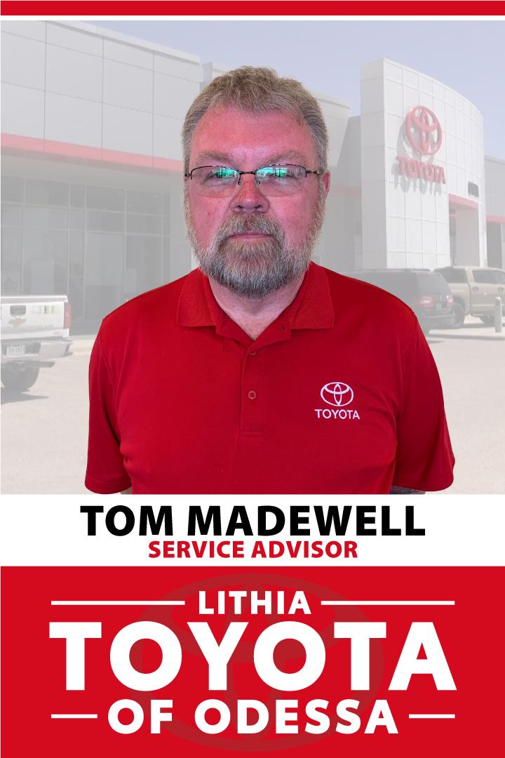Tom Madewell Bio Image