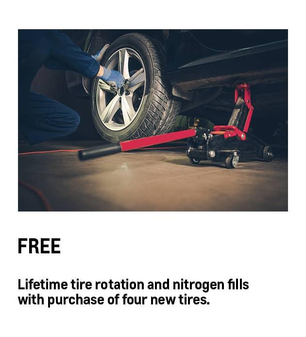 Tire Rotation and Nitrogen Fills