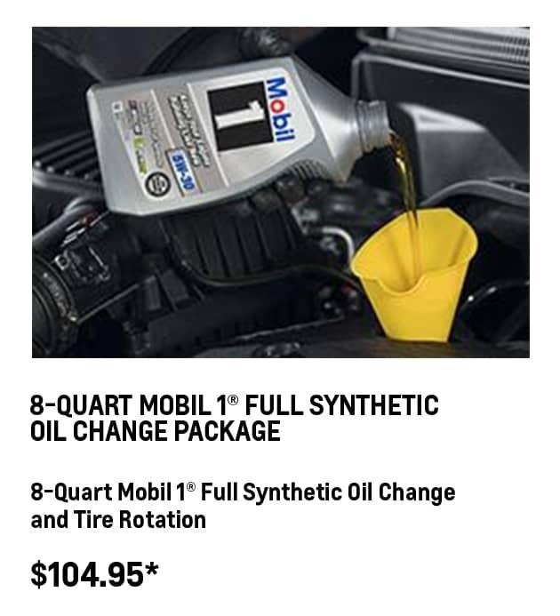 8-QT Mobil 1® Oil Change