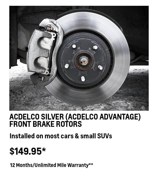 ACDelco Advantage Car Rotors