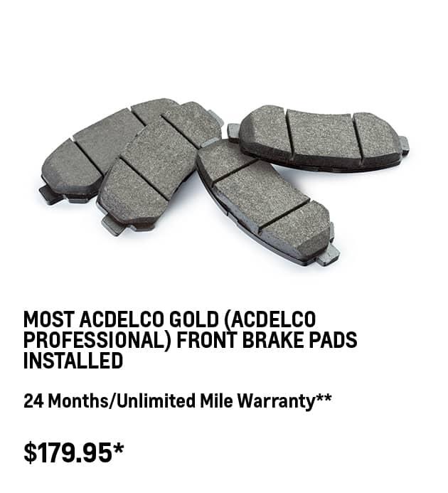 Professional Brake Pads