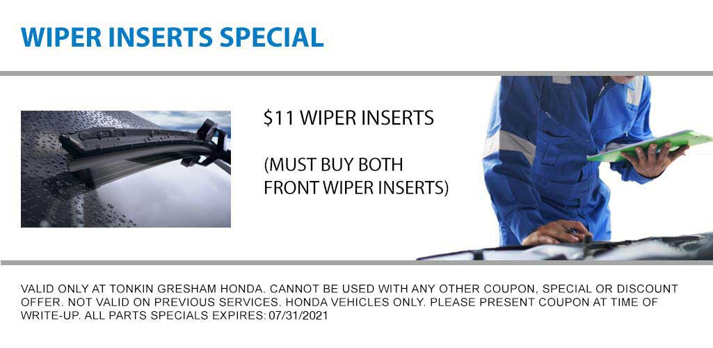 Wiper Inserts Special