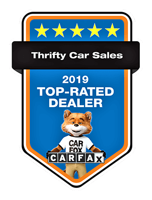 Thrifty Car Sales CarFax Top-rated dealer in Coopersburg