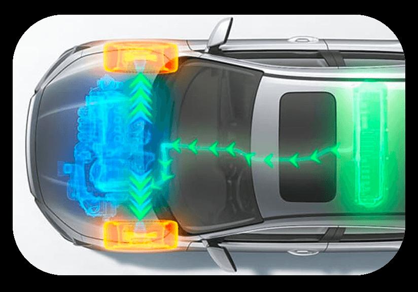 Twin-Motor Hybrid Powertrain