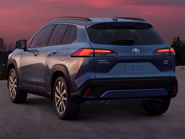 2022 Toyota Corolla Cross Rear Angle & Tailgate