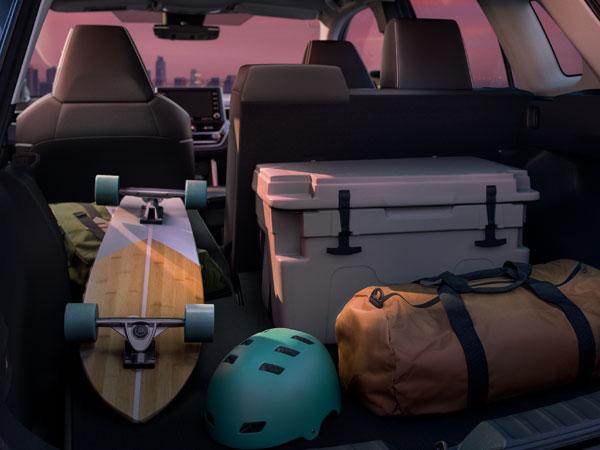 2022 Toyota Corolla Cross Cargo Space