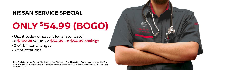 Tire and Oil Service - BOGO