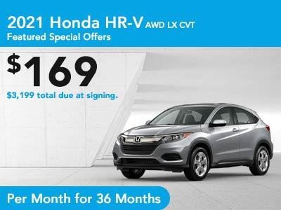 2021 HR-V CVT AWD LX