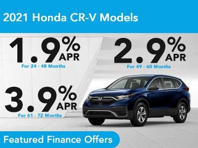 2021 Honda CR-V Models