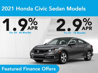 2021 Honda Civic Sedan Models