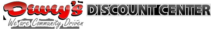 Dewey's Discount Center logo