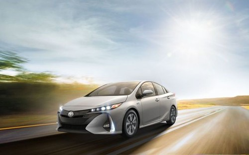 Silver Toyota