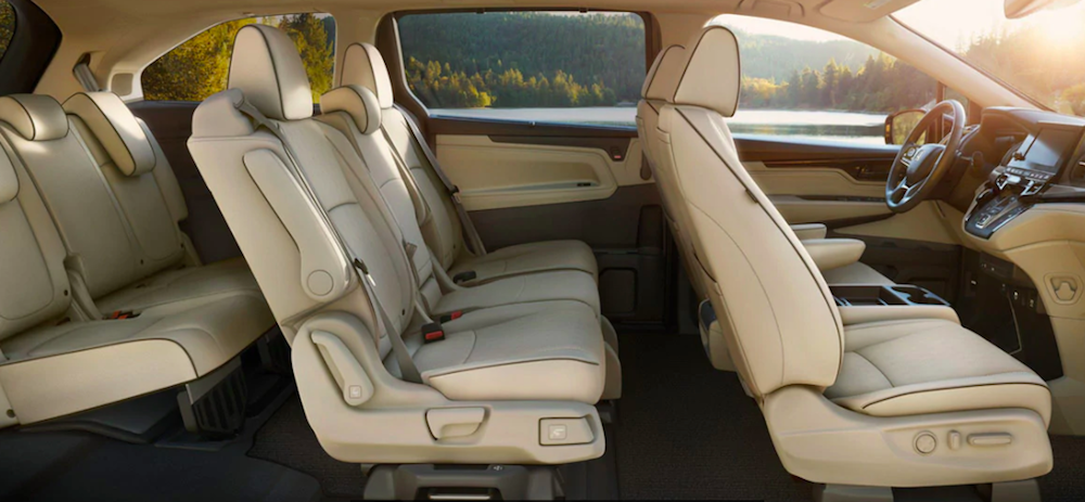 2022 Honda Odyssey Seating Options and Features