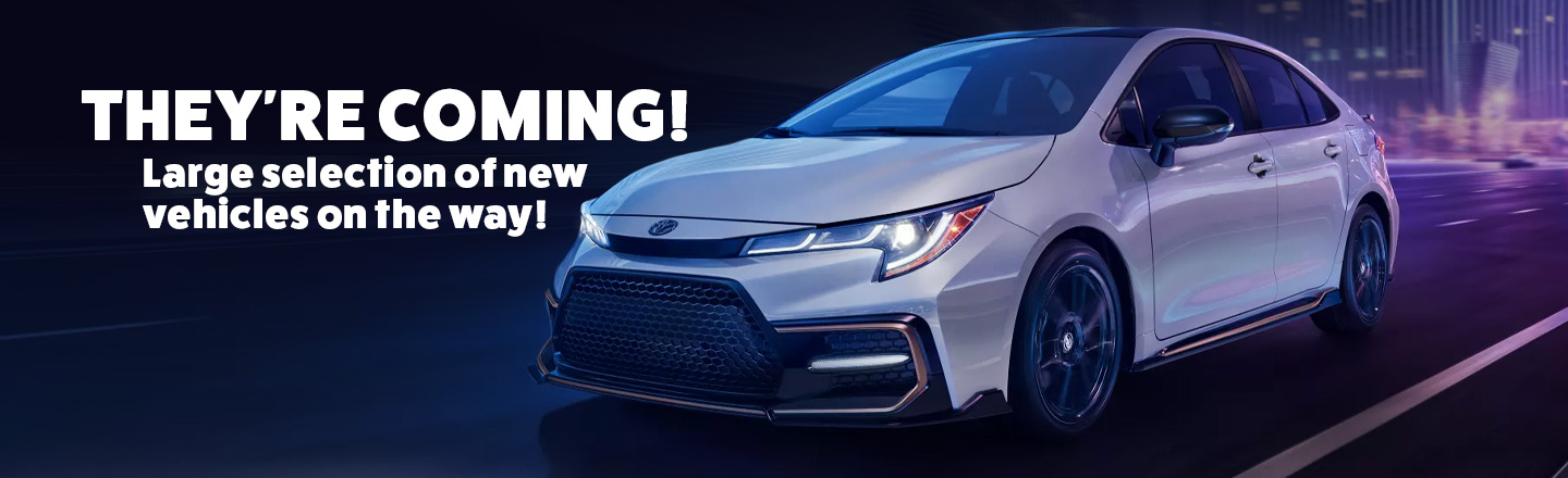 New Cars Incoming