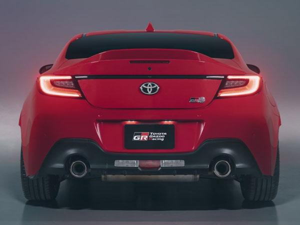 2022 Toyota GR 86 Rear Angle