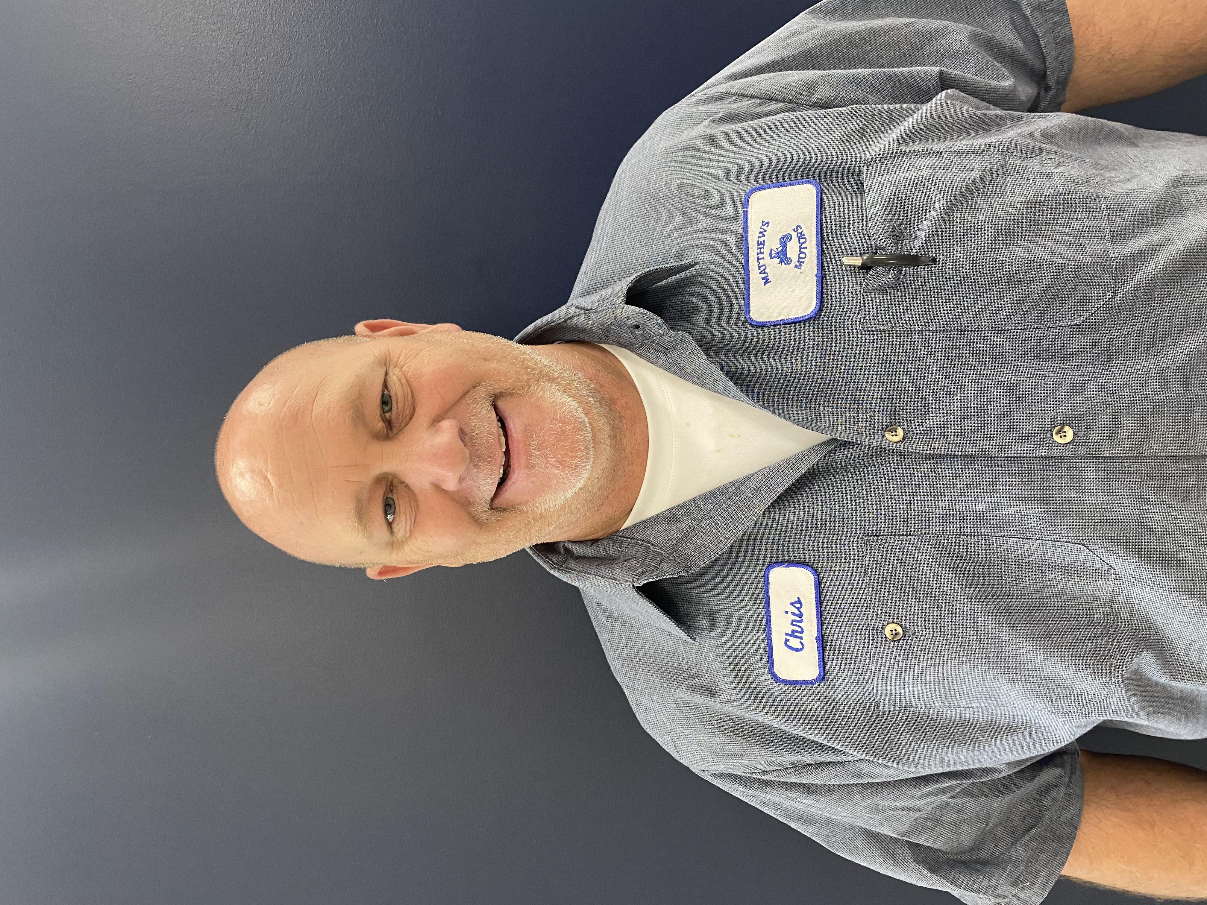 Chris Henderson Bio Image