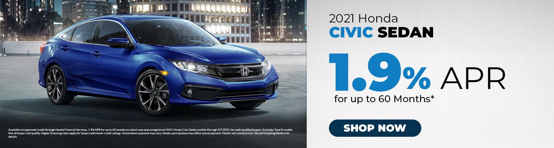 2021 Honda Civic Sedan Offer