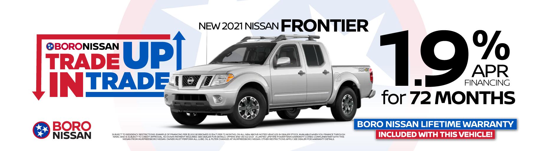 2021 Frontier