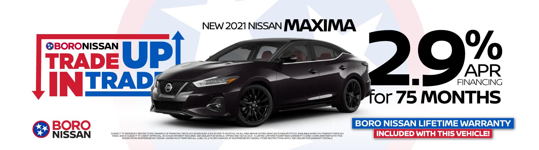 2021 Maxima