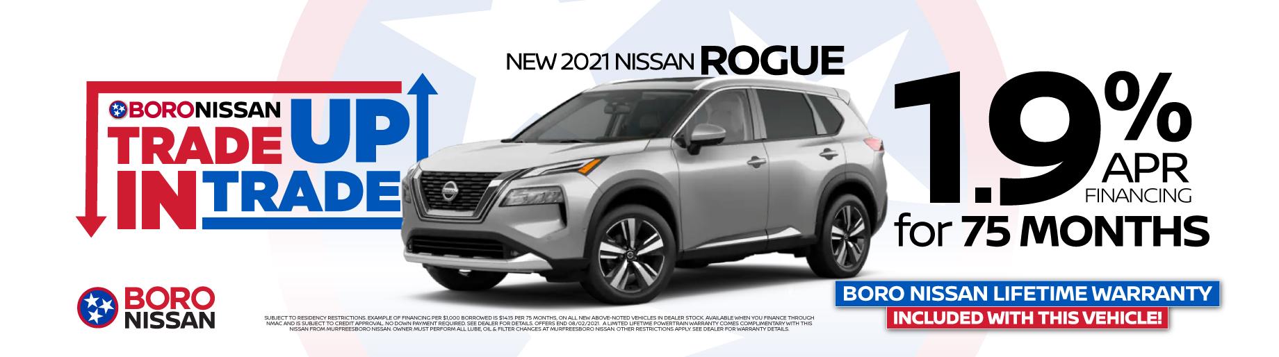 2021 Rogue