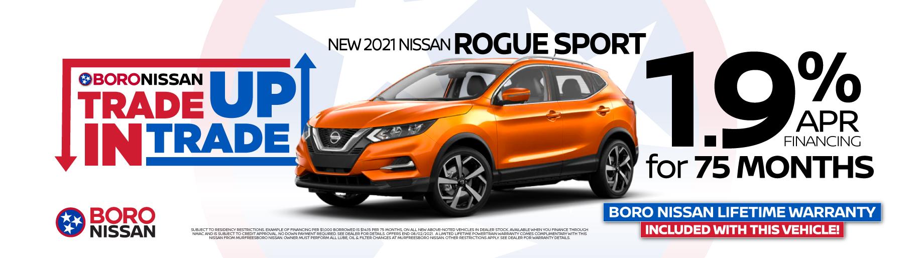 2021 Rogue Sport