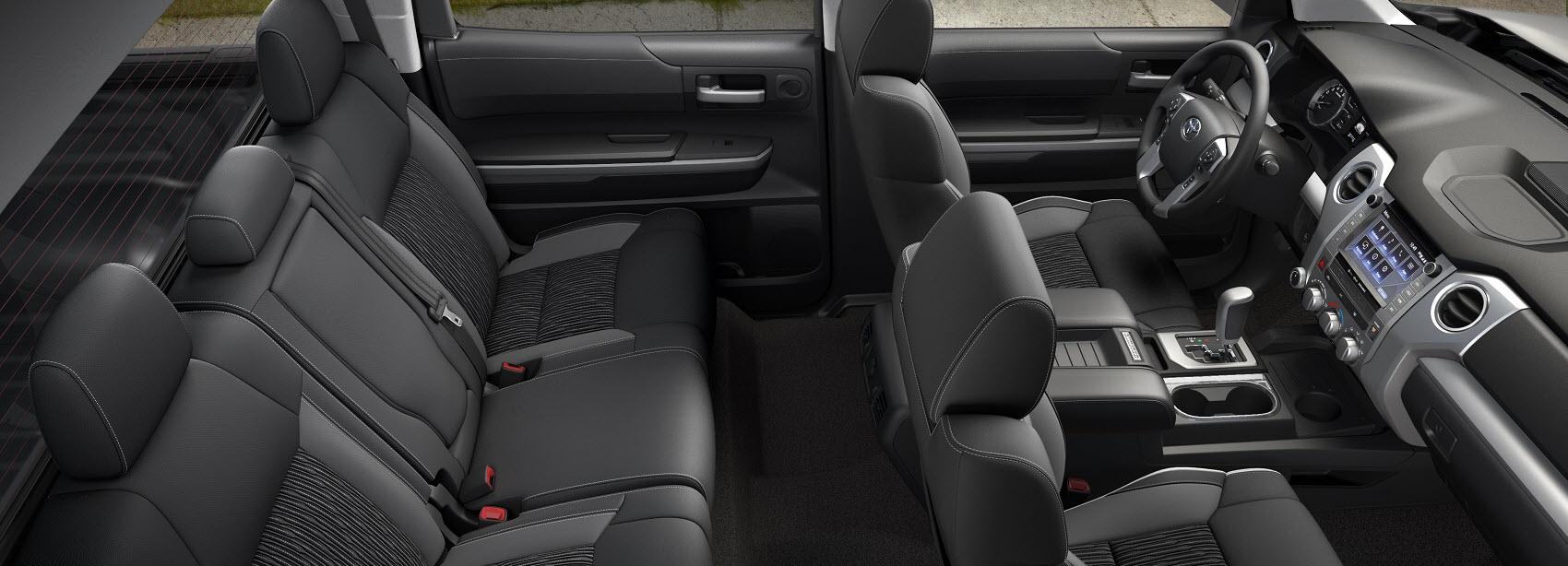 Toyota Tundra Interior Space