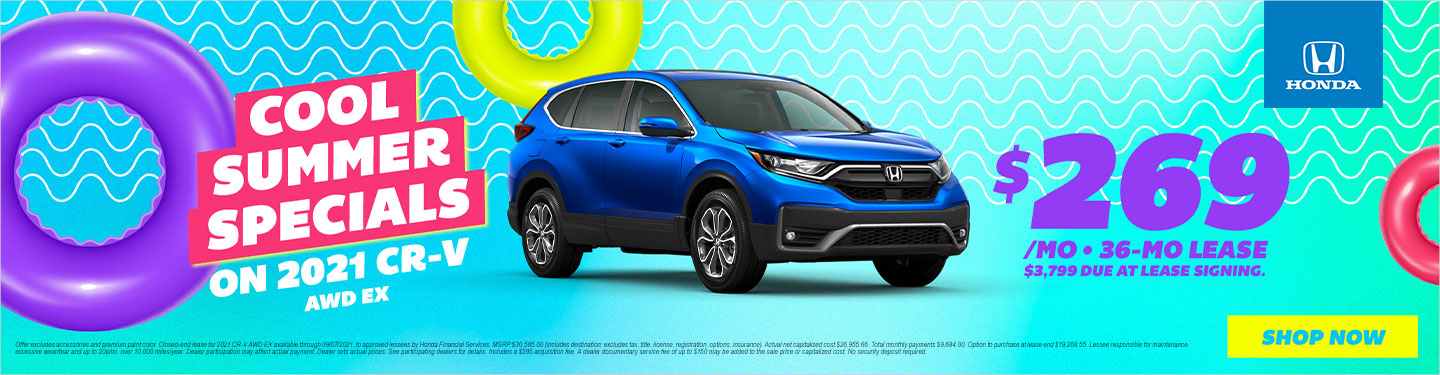 2021 CR-V Lease Special