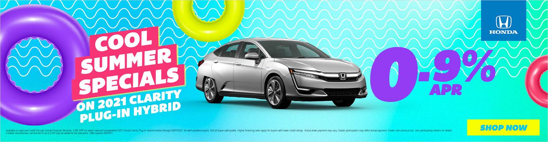 2021 Honda Clarity Hybrid Models