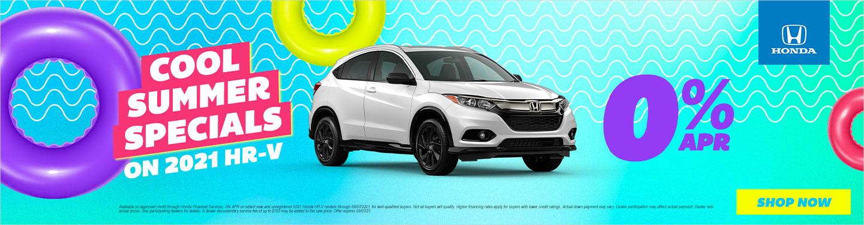 2021 Honda HR-V Models