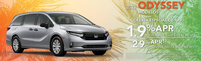 2022 Honda Odyssey Models