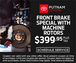 Front Brake Service Special