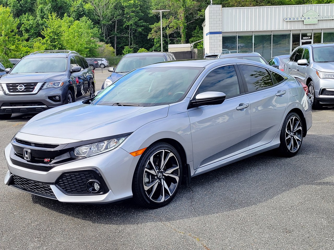 2018 Honda Civic Si FWD