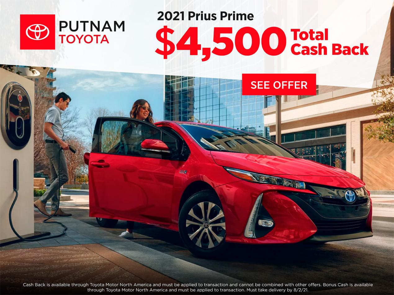 Cash Back Prius Prime
