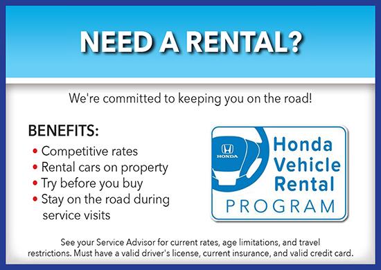 Need a Rental?